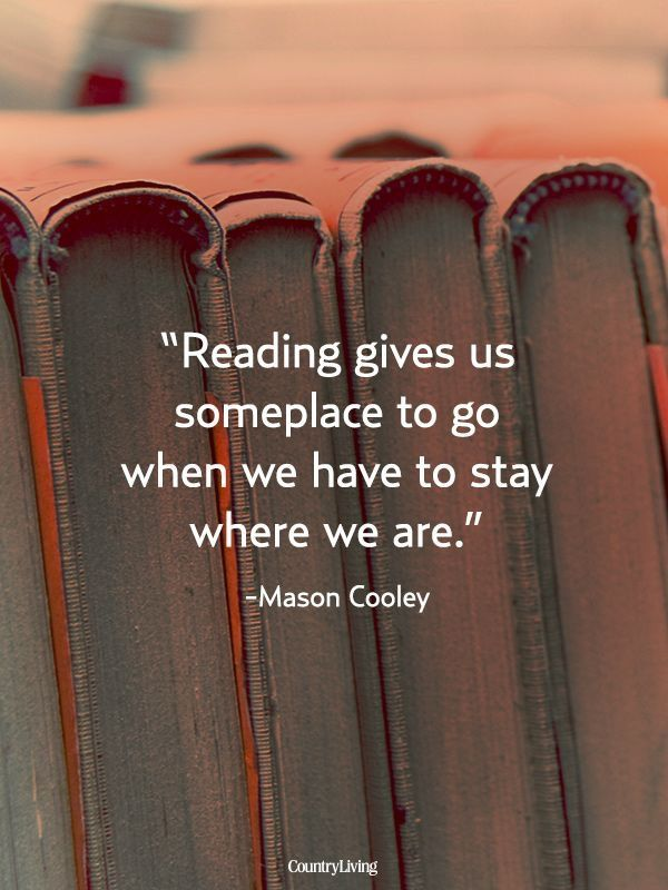 Reading books just gives me this amazing feeling knowing that as soon as I open that book, I will be washed away to a whole new world and leave reality behind