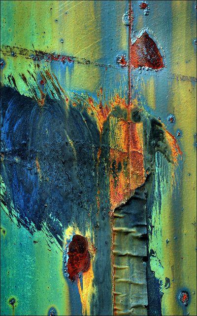 17 meilleures id es propos de peinture effet rouille sur - Peinture effet rouille ...