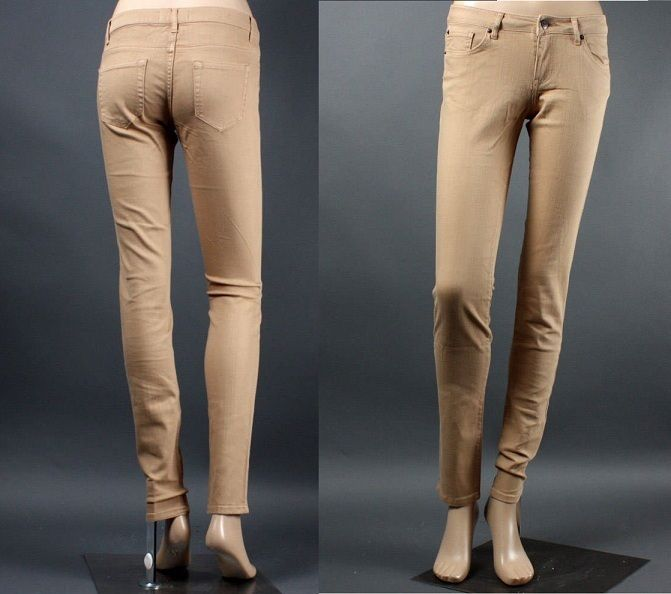 1000  ideas about Khaki Skinny Jeans on Pinterest | Khakis, Skinny ...