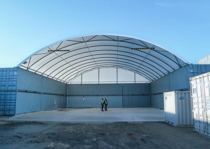 Sea Container Shelters : Container shelters garages workshops