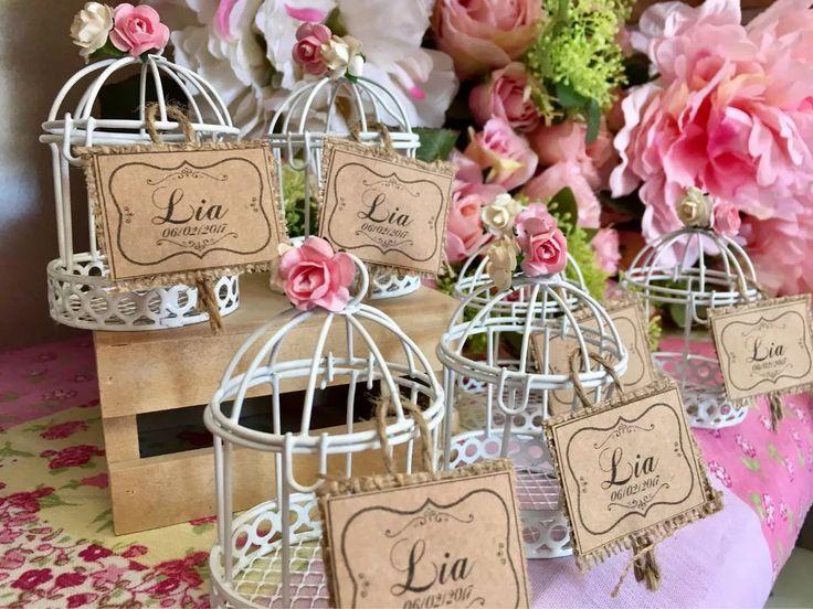 jaulas jaulitas souvenir centro de mesa 15 casamiento 9 cm