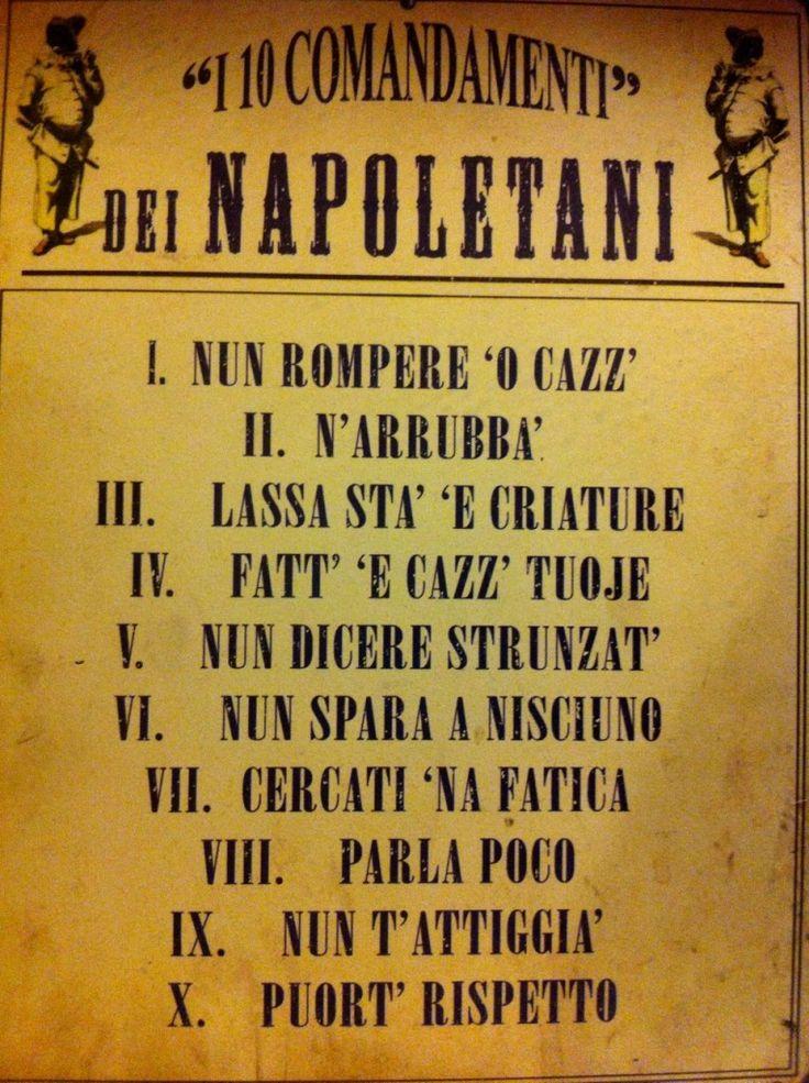 Risultati immagini per detti napoletani