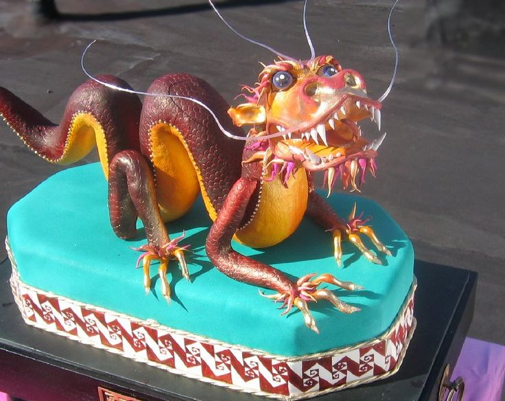 Cake Art By Liz : 17 Best images about Cakes-Dragon on Pinterest Retro ...