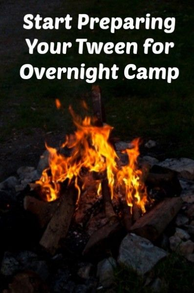 Preparing Your Tween for Overnight Camp - get tips from camp experts at http://tweenhood.ca/preparing-tween-overnight-camp/