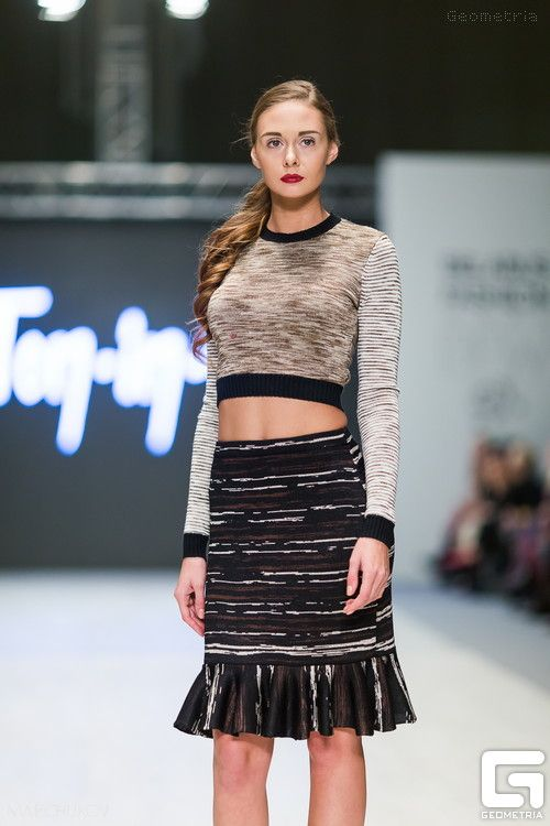 Belarus Fashion Week Spring-Summer 2015 : Ton-in-ton, FUR GARDEN