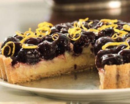 BLACK CHERRY CHEESECAKE TART – Bakers