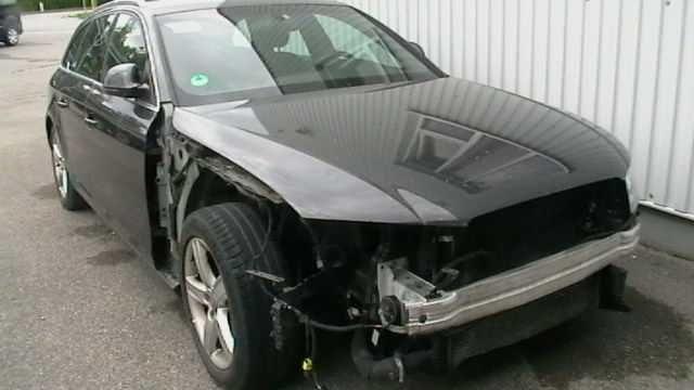A4 Kombi 3,0 TDI Quattro Unfall