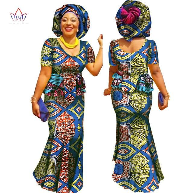 330f744c9ea African Woman Skirt an Blouse traditional dress plus size