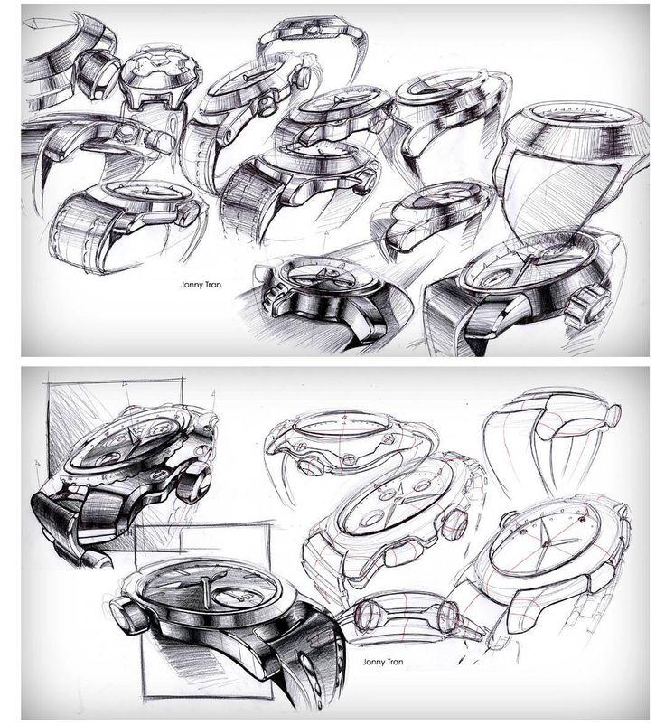 Watch sketches from my portfolio #sketch #sketches #idsketching #designsketching #industrialdesign #design