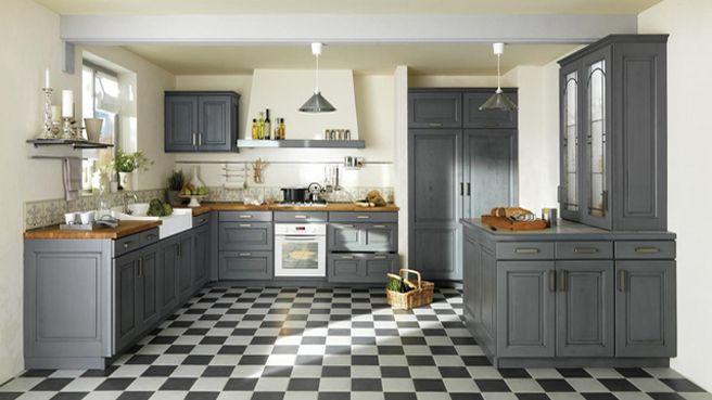 Une d co de style maison de famille dans la cuisine deco cuisine cuisine rustique chic - Cuisine maison de famille ...