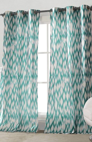 Free shipping and returns on kensie 'Caitlin' Window Panels at Nordstrom.com. A vibrant ikat-inspired geometric pattern defines crisp curtain panels designed to brighten any room.