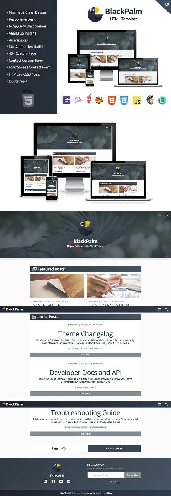 513 best HTML/CSS Themes images on Pinterest | Templates, First ...