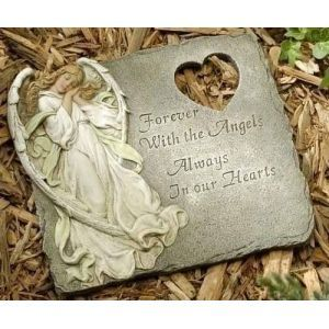 Joseph's Studio Angel Memorial Garden Stepping Stone