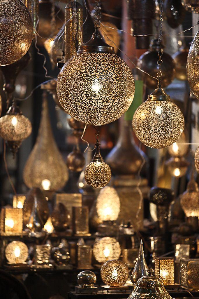 Marrakech lighting magic