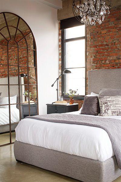 un loft au dcor industriel les ides de ma maison tva publications photos - Chambre Loft Industriel