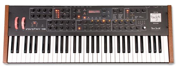Dave Smith Instruments Prophet 08 - apparently James Blake's favourite toy