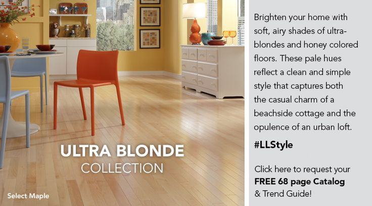 Ultra Blonde Collection.  Brighten your home with soft, airy shades of ultra-blonds and honey colored floors.  These pale hues reflect a clean and simple style that captures both the casual charm of a beachside cottage and the opulence of an urban loft. Request a Catalog.