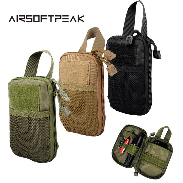 Cheap magazine pouch tactical, Buy Quality tactical pouch magazines directly from China magazine pouch molle Suppliers: AIRSOFTPEAK Military Molle EDC Pouch Mesh Tools Accessory Pouches Tactical Waist Hunting Bags Outdoor Flashlight Magazine Pocket