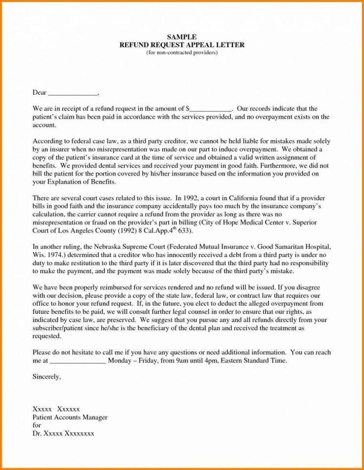 claim letter sample insurance dental appeal medical