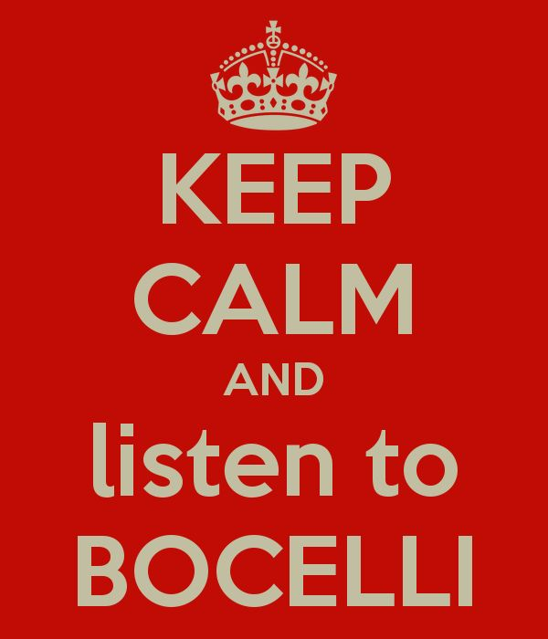 Andrea Bocelli is a hardworking, gifted and talented musician.