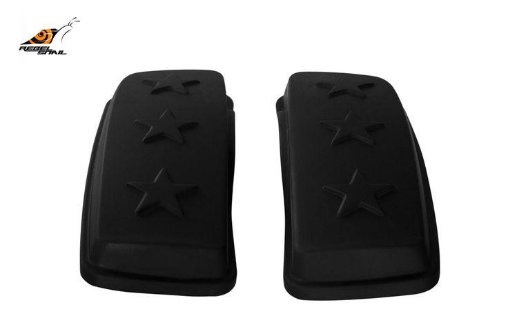 RS hard saddlebag lids army stars design for touring 2014 Image