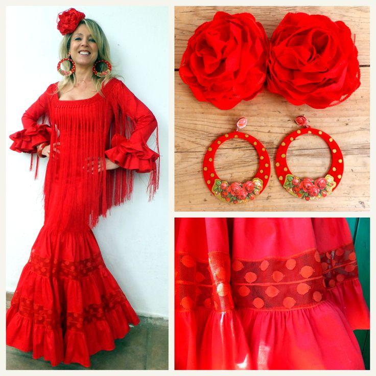 Traje de flamenca Rojo Valentino