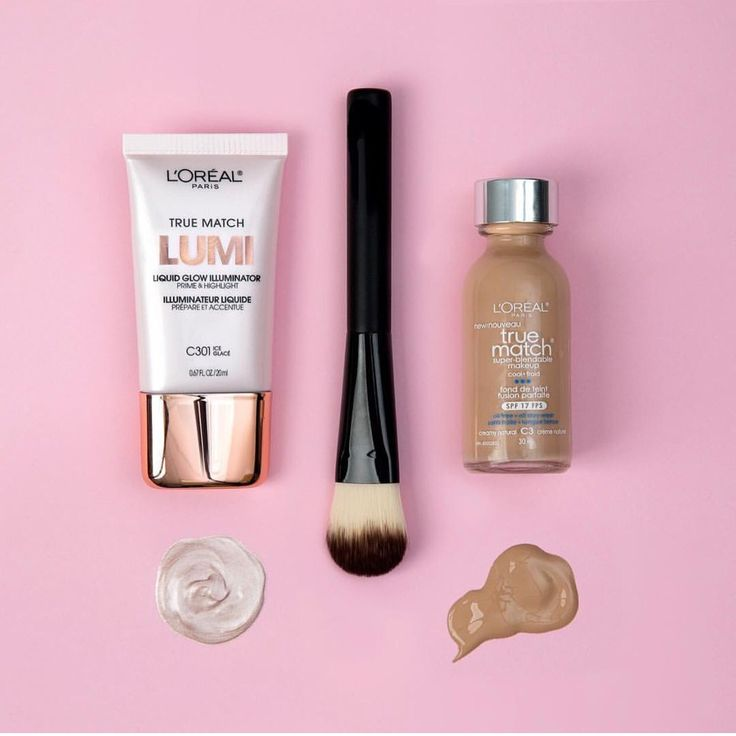 Mix True Match Lumi Liquid Glow Illuminator with True Match Foundation for a dewy finish.
