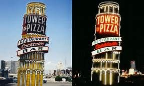 "Tower of Pizza Las Vegas - New York transplant Gaspare ""Jasper"" Speciale ran the joint, along with a loan shark operation, until Spilotro convinced him to retire. The restaurant was located where the Cosmopolitan of Las Vegas sits now."