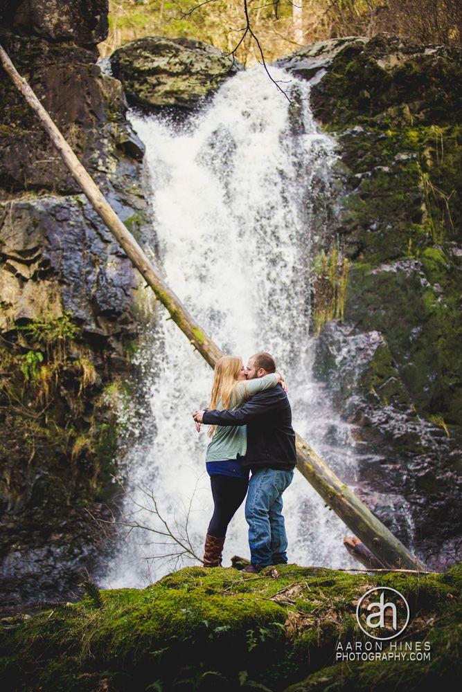 Waterfall Proposal & engagement photo
