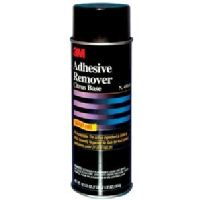 Solvent-free Adhesive Remover bites in and dissolves the sticky overspray of many aerosol adhesives, plus grease, oil, grime, tape residue, tar, wax and more. Not recommended for use on plastics, may craze. Sold per each.