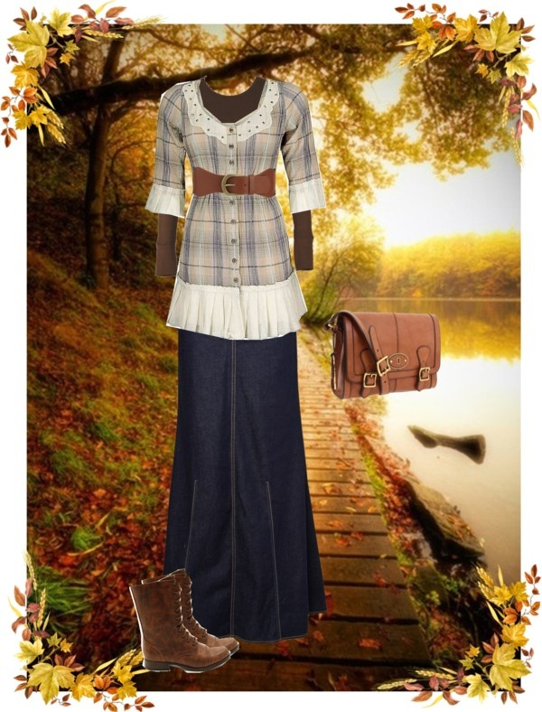 """""""Fall Outfit"""" by christianmodesty ❤ liked on Polyvore"""