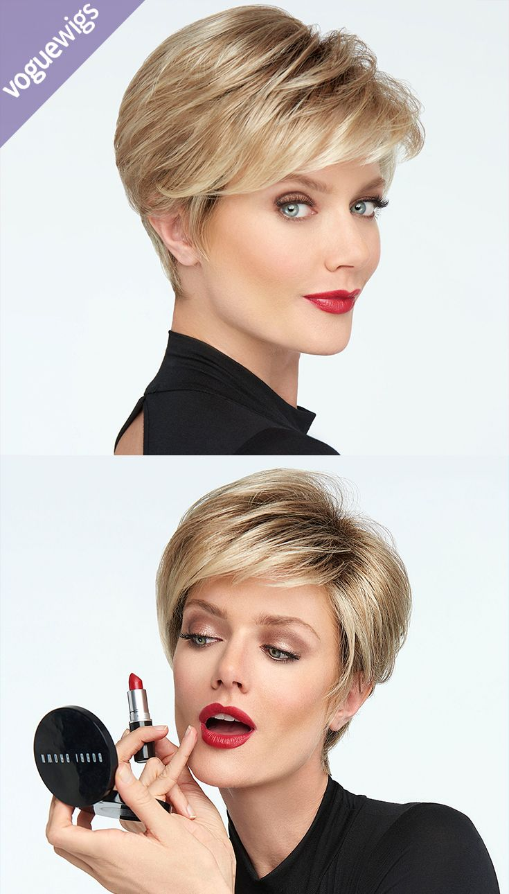 Boy hairstyle wigs the go for it monofilament wig by raquel welch is a classic boy cut