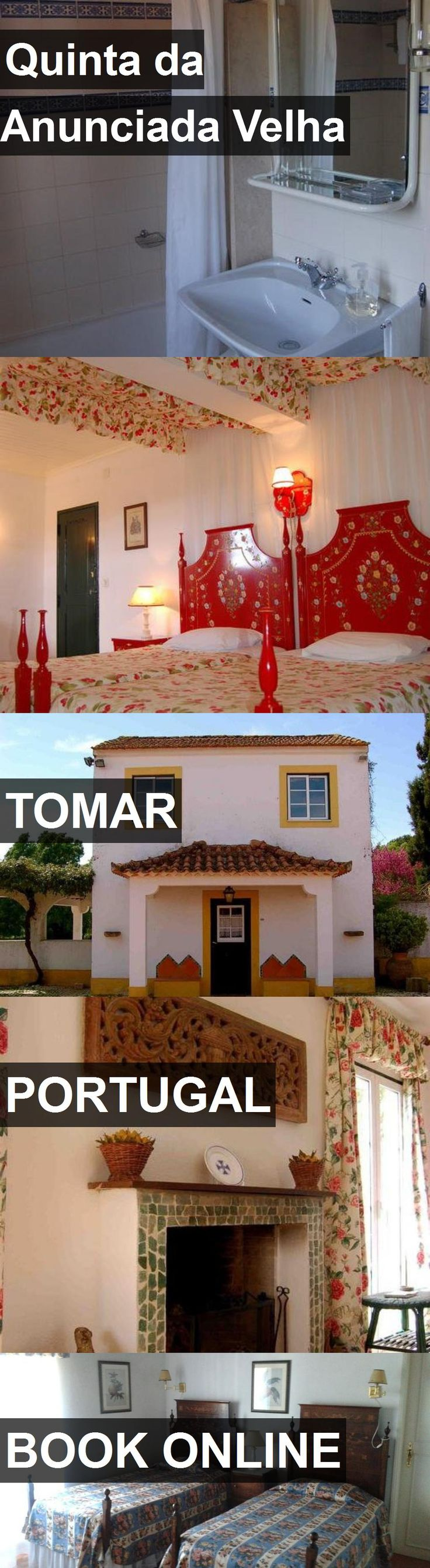 Hotel Quinta da Anunciada Velha in Tomar, Portugal. For more information, photos, reviews and best prices please follow the link. #Portugal #Tomar #travel #vacation #hotel