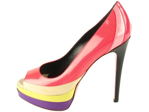 Popsicle Wrapped Heel
