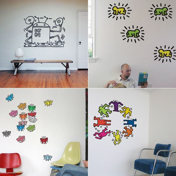 Keith Haring Wall Decals Part 85
