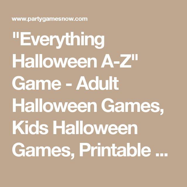 Más de 25 ideas fantásticas sobre Halloween Games Adults en Pinterest