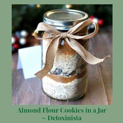 Cookie Advent | Day 7: Almond Flour Cookies in a Jar ~ Detoxinista