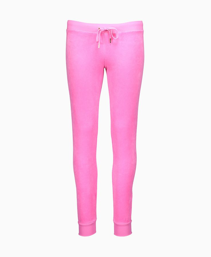 Juicy Couture - Bling Zuma Velour Joggers - Pink