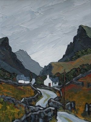 British Artist David BARNES - The Pass
