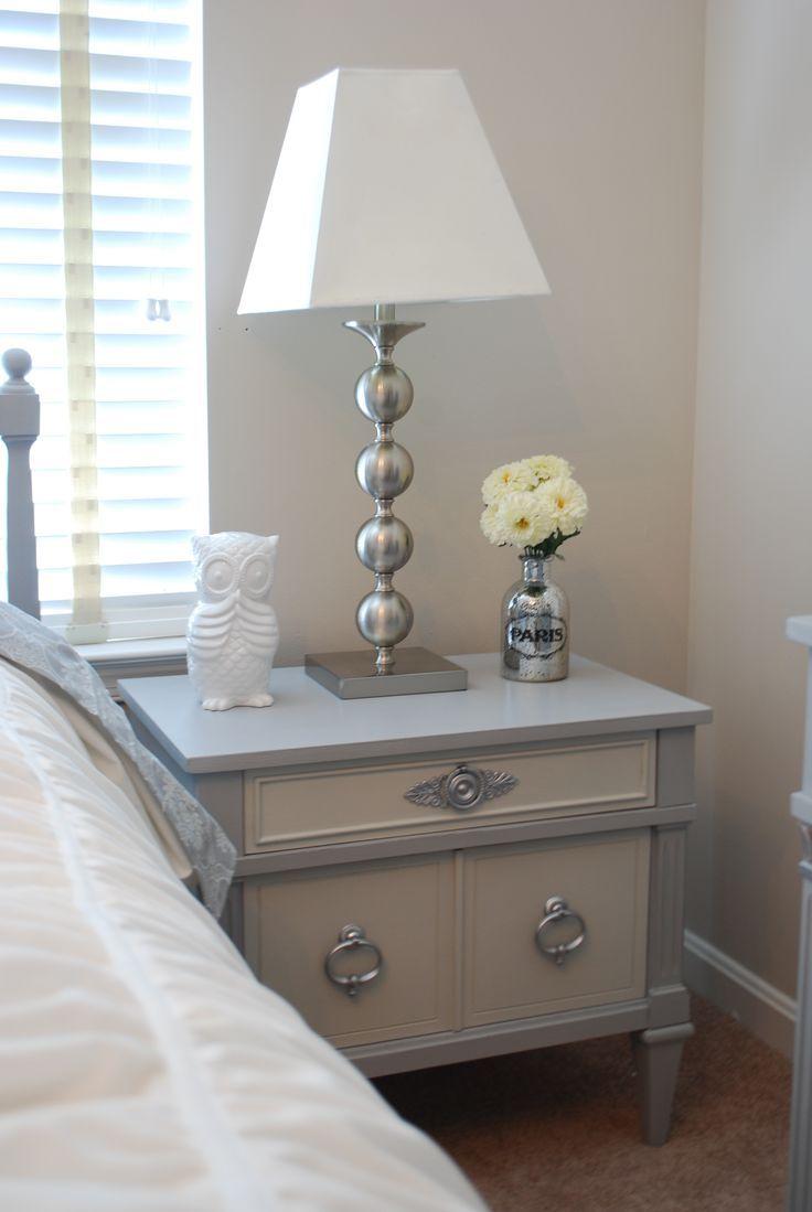 Best 25 mirrored nightstand ideas on pinterest mirror - Bedroom furniture bedside tables ...