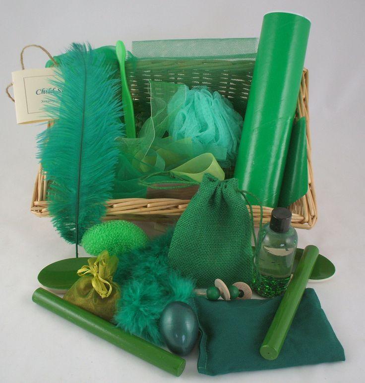 Colour Recognition Baskets | Green