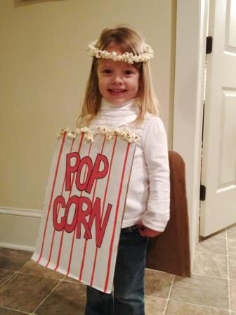 25+ best Popcorn costume ideas on Pinterest - Easy Costume Makeup