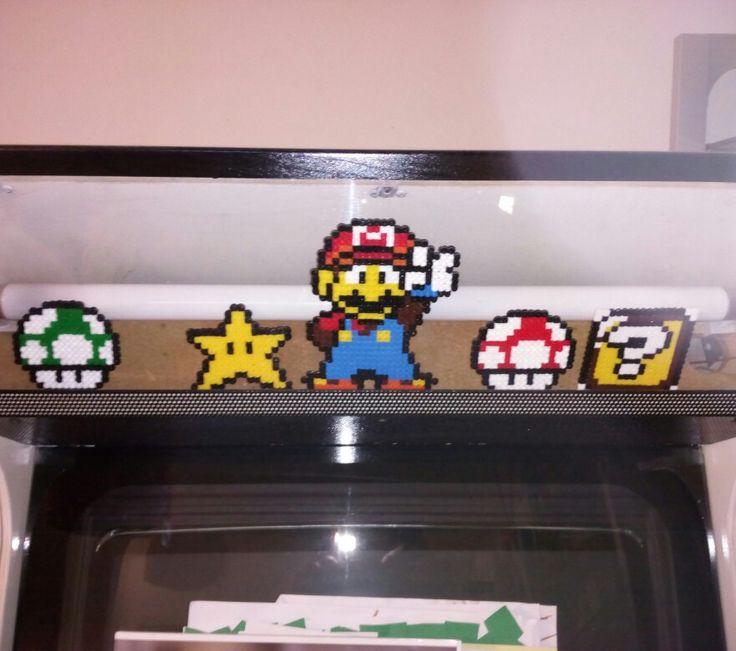 ...creazioni in pyssla -super Mario ;)