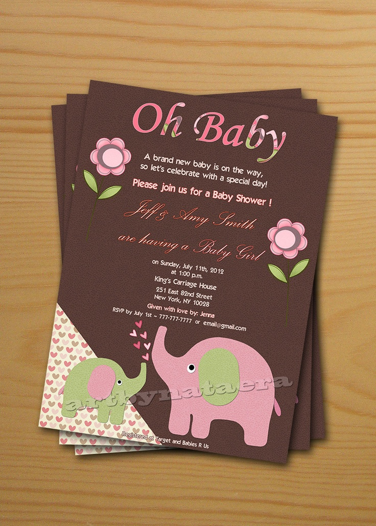 very attractive free printable baby shower thank you cards 8028