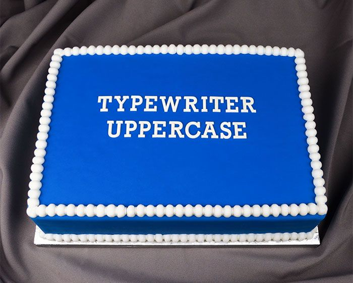 Typewriter Uppercase Flexabet™