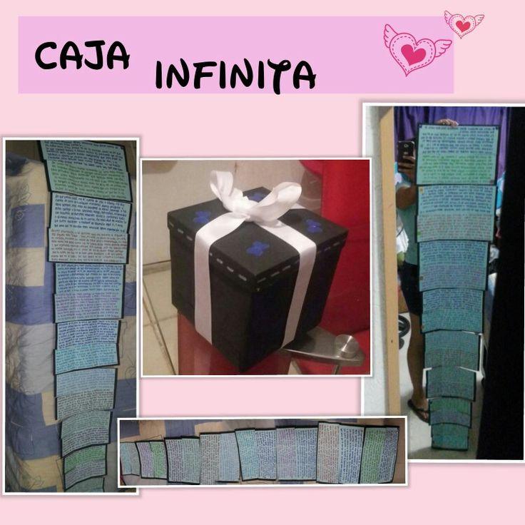 #yeraldigift  Caja infinita
