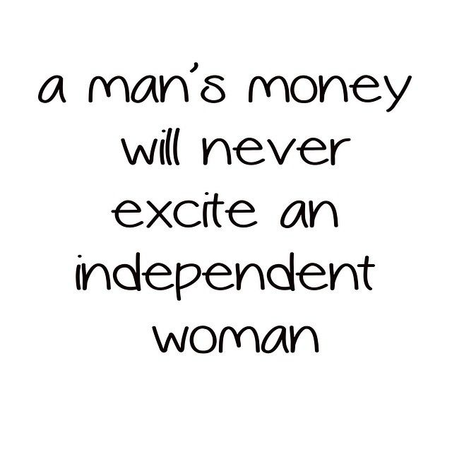 Nope. Only excites materialistic shallow girls, not strong independent women.