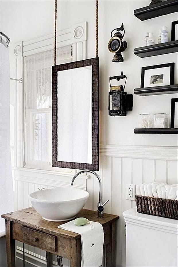 waschbecken waschtisch holz kosmetik rustikale bder gste wc dunkles holz vollkorn vielleicht gartenhaus