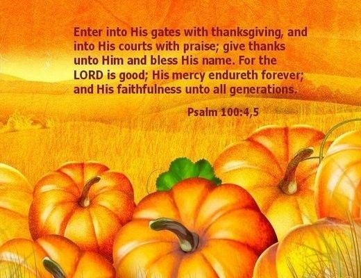 Thanksgiving Psalm