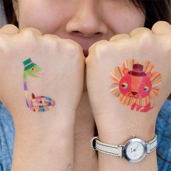 Best 25 no outline tattoo ideas on pinterest watercolor for Temporary tattoos for kids